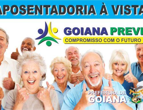 GoianaPrevi começa a deferir pedidos de aposentadoria